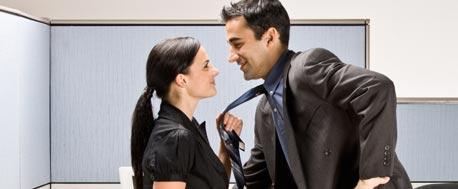 Wie flirten männer am arbeitsplatz