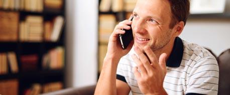 Telefonieren vorm ersten Date